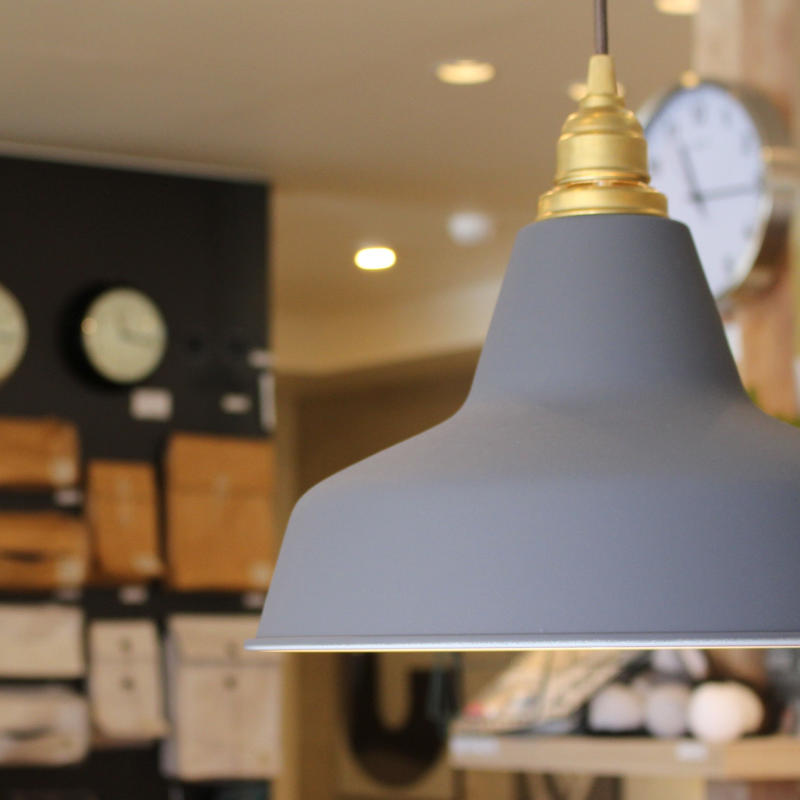 Railroad-pendant light GRAY