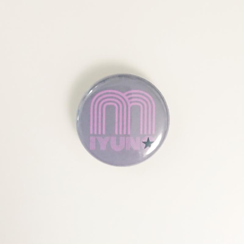 12/30~発送開始【Badge-No.010】miyuna's  オリジナル缶バッジ