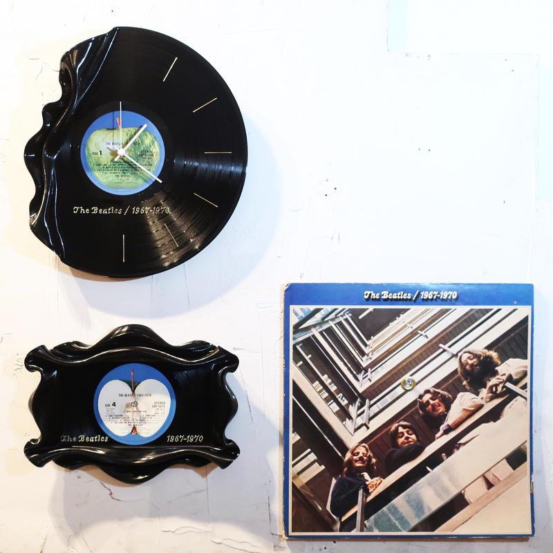 Waning  Wall Clock & Antique tray