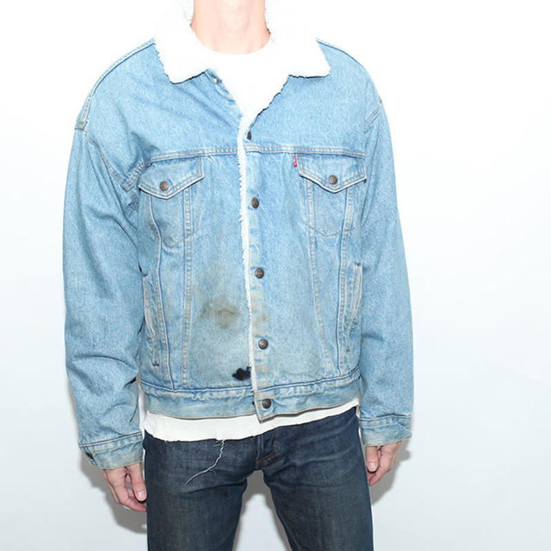 Vintage Levis Boa Denim Trucker Jacket
