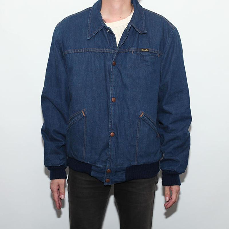 Vintage Wrangler Denim Boa Jacket