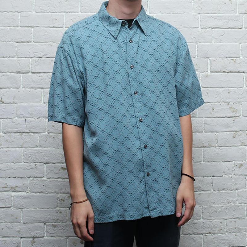 シルクシャツ Silk S/S Shirt