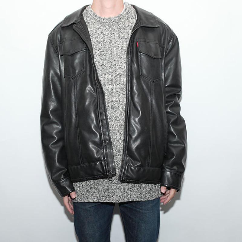 Levis Fake Leather Jacket