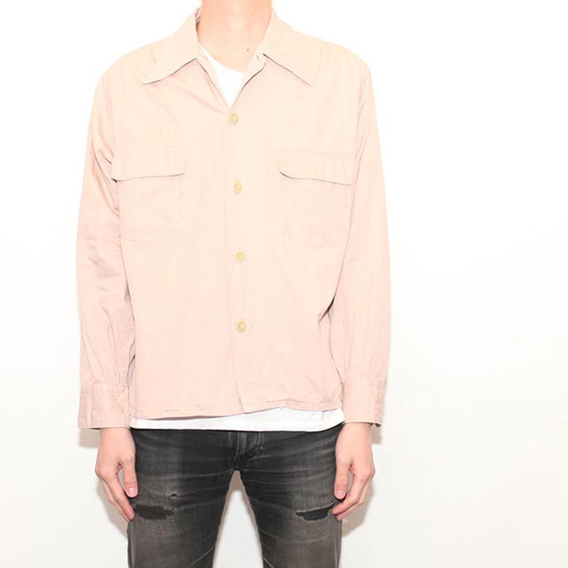 Open Collar L/S Shirt