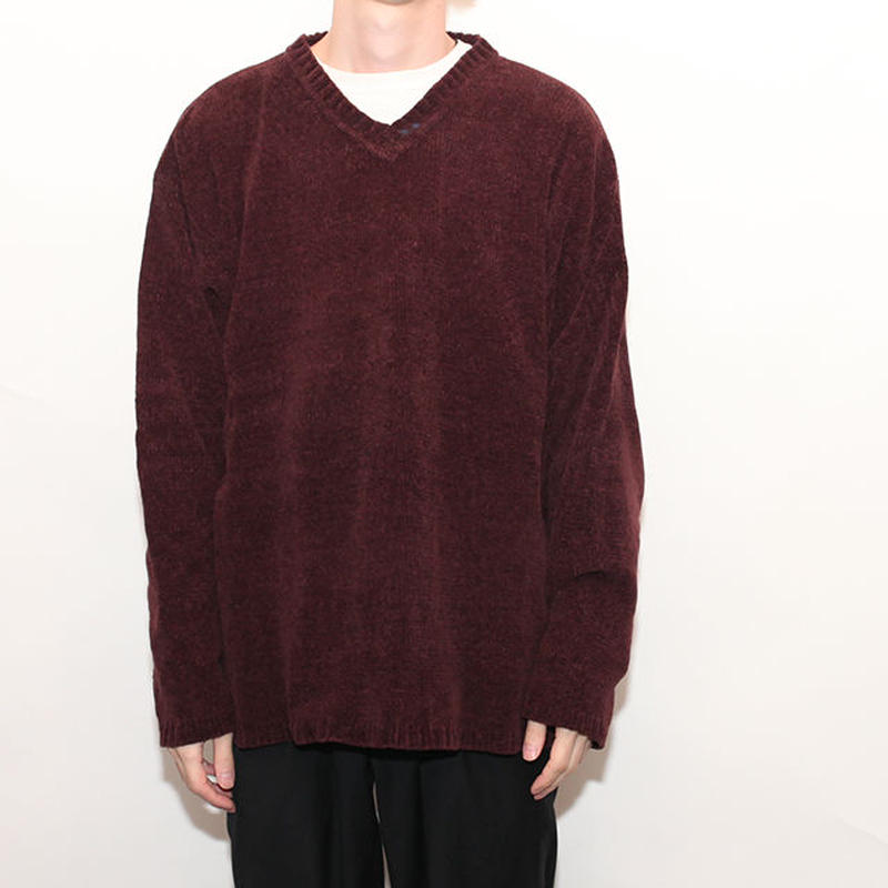 Velour knit Sweater