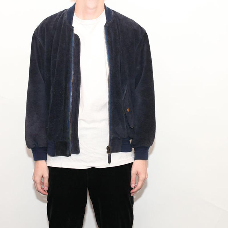 Suede MA-1 Jacket