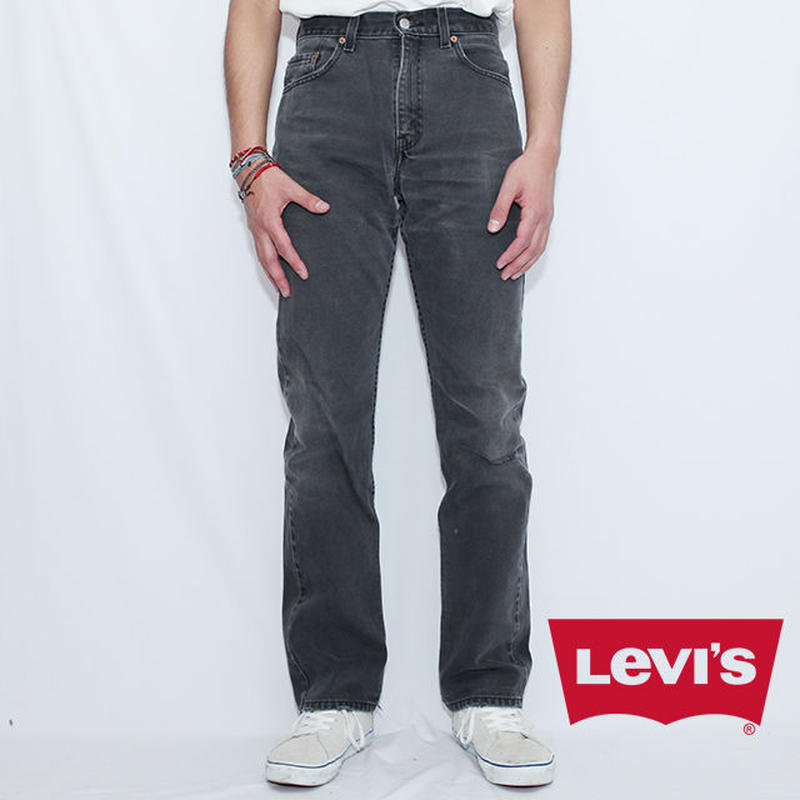 リーバイス505 ダメージジーンズ Levis