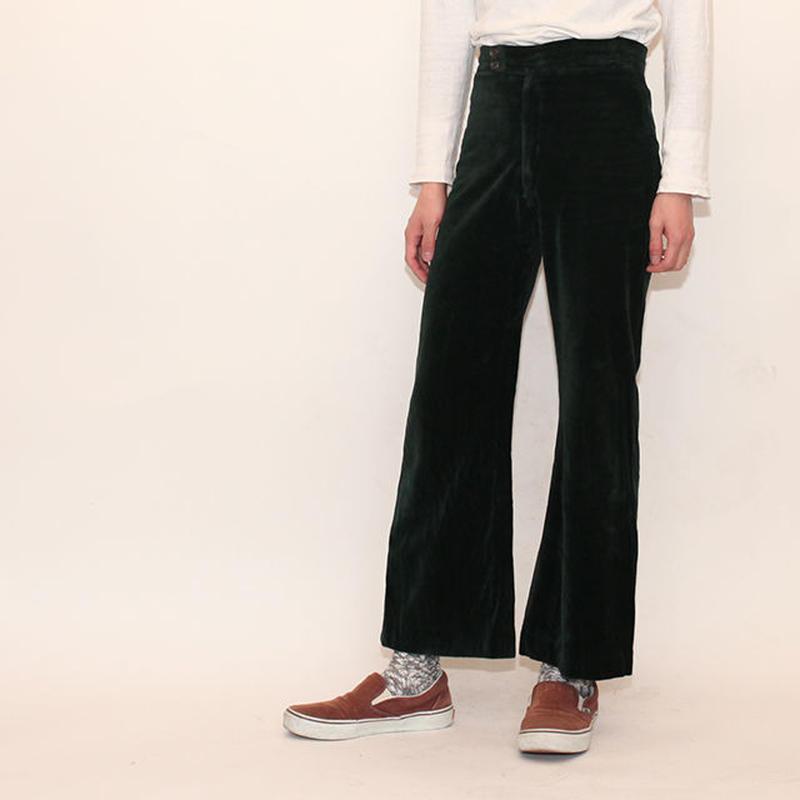Velours Bootscut Pants