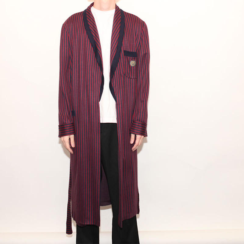 Stripes Gown Coat
