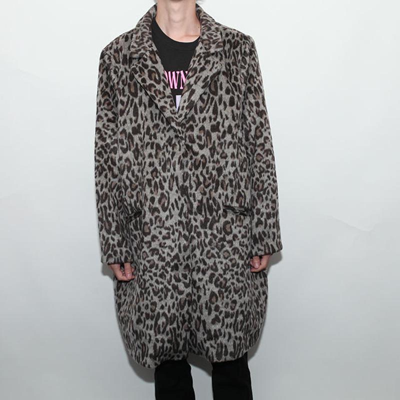 Animal Pattern Long Coat