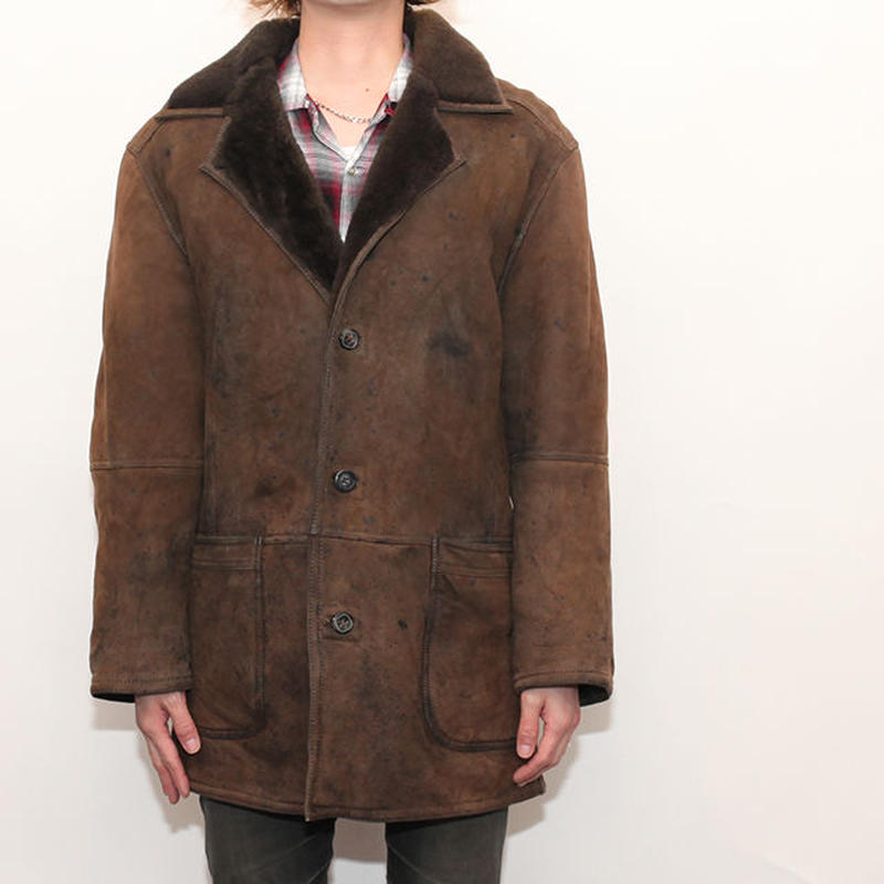 Mouton Leather Jacket