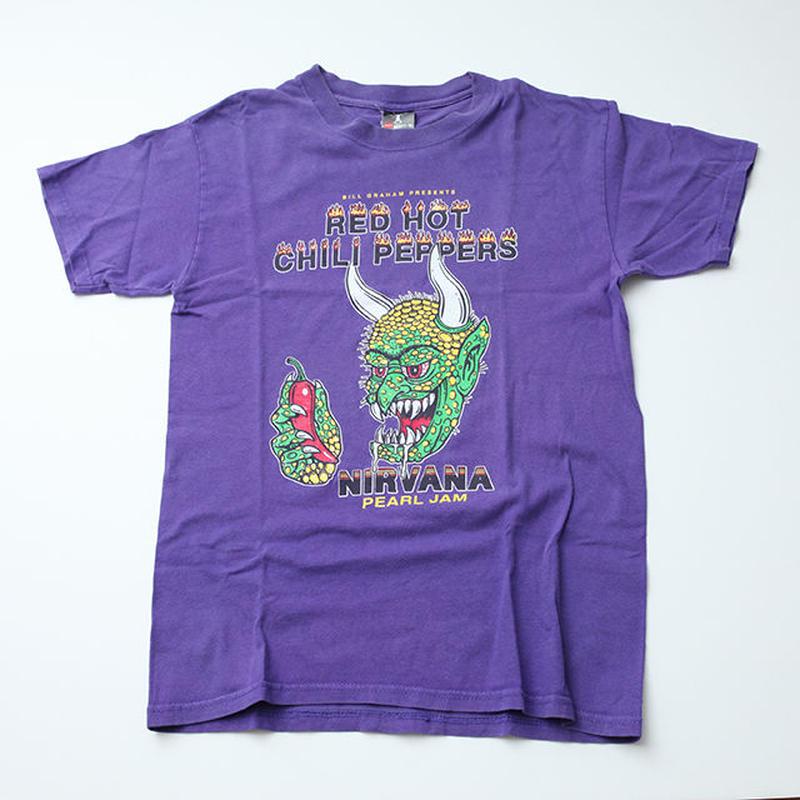 ヴィンテージ レッチリ×ニルバーナ×パールジャムTシャツ Vintage RHCP T-Shirt