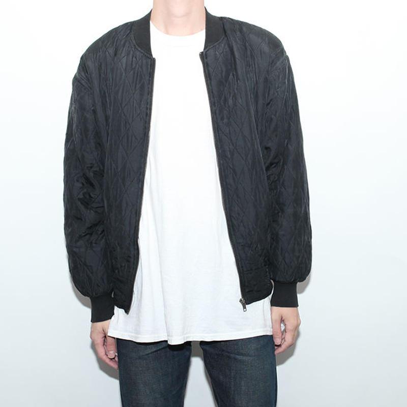 キルティングシルクジャケット Quilting Silk Jacket