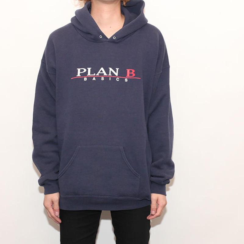 90's PLAN B Pullover Hoodie