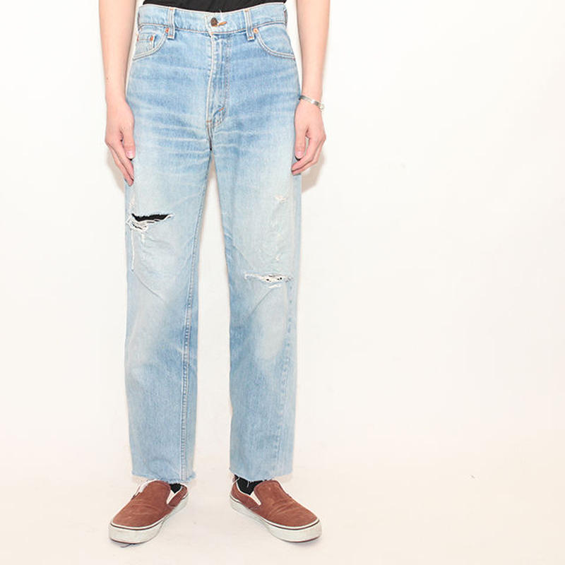 90's Levis510 Damage Denim Pants