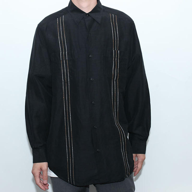 Embroidary L/S Shirt