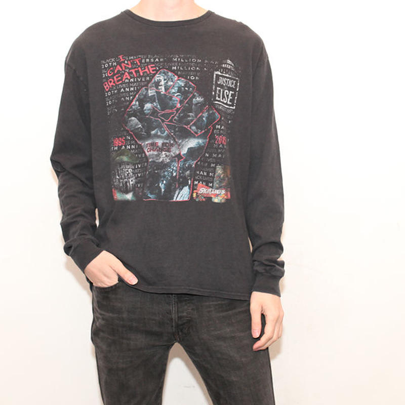 Black Power L/S T-Shirt