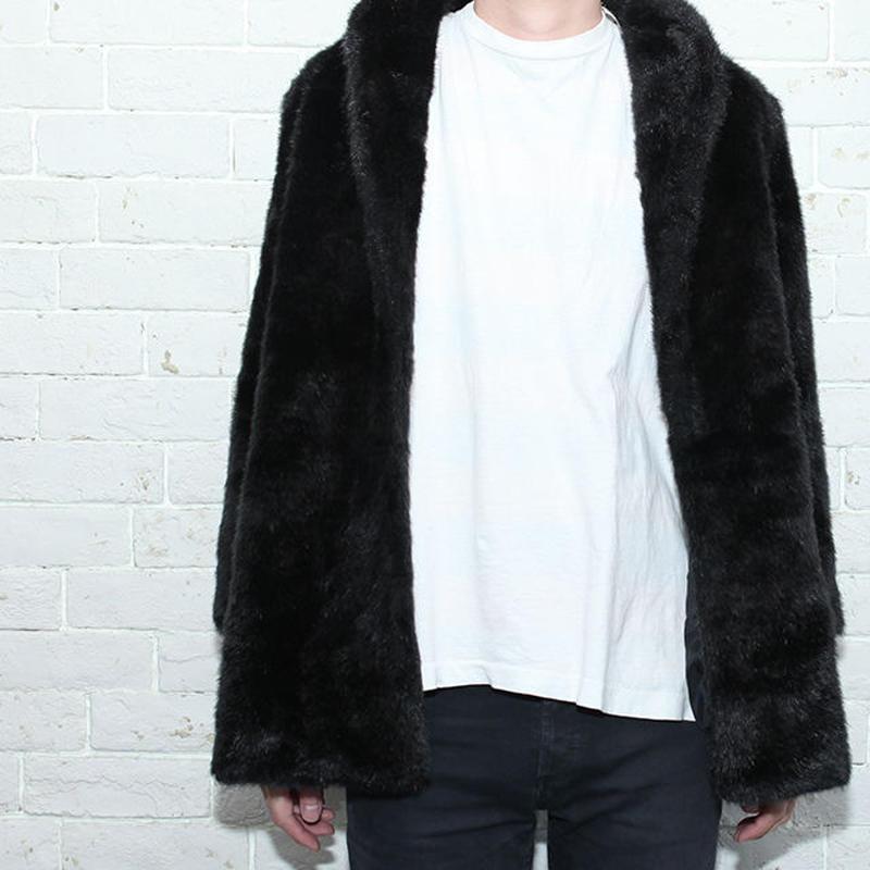 Black Fake Fur