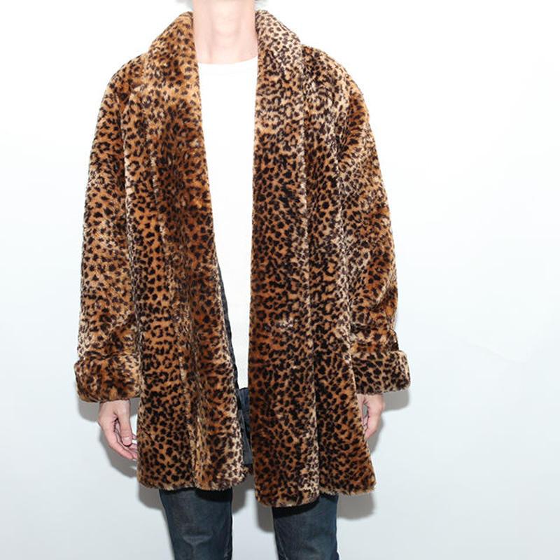 Vintage Animal Fake Fur Coat