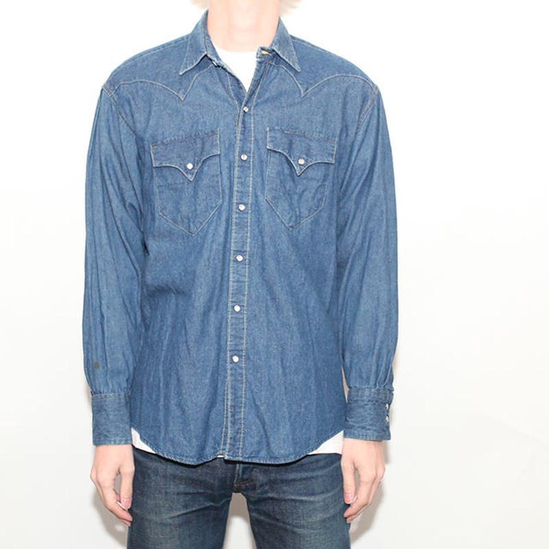 Denim Western L/S Shirt