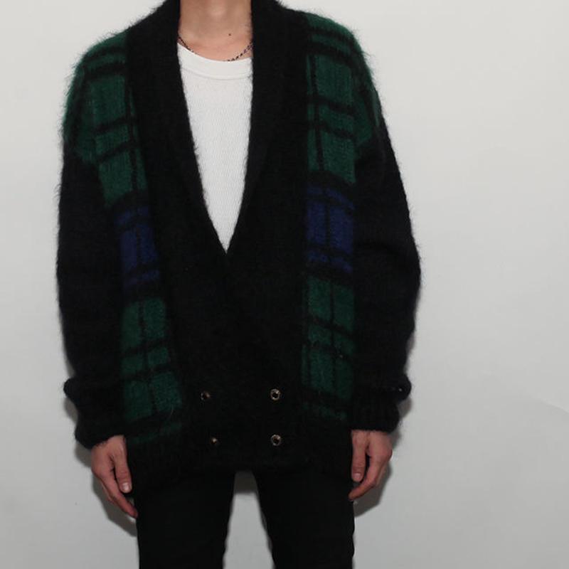 Mohair Wool Cardigan