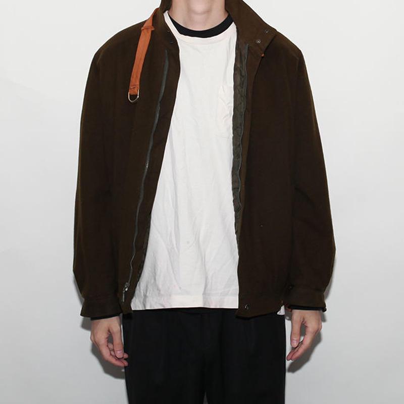 Alpaca Mix Vintage Wool Jacket