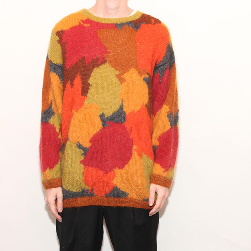Mohair Wool knit Sweater