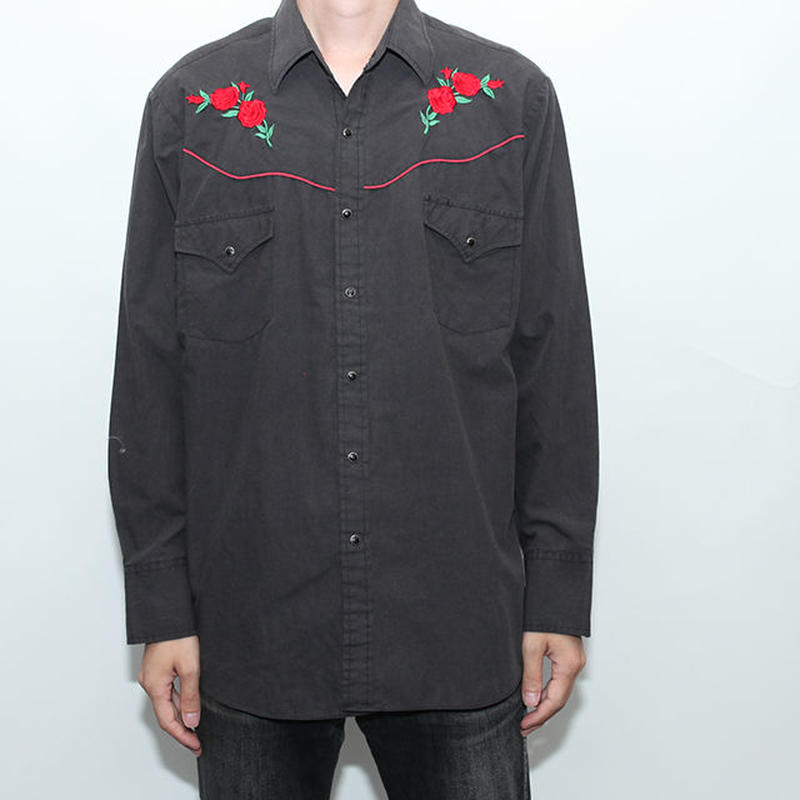 Embroidery L/S Shirt
