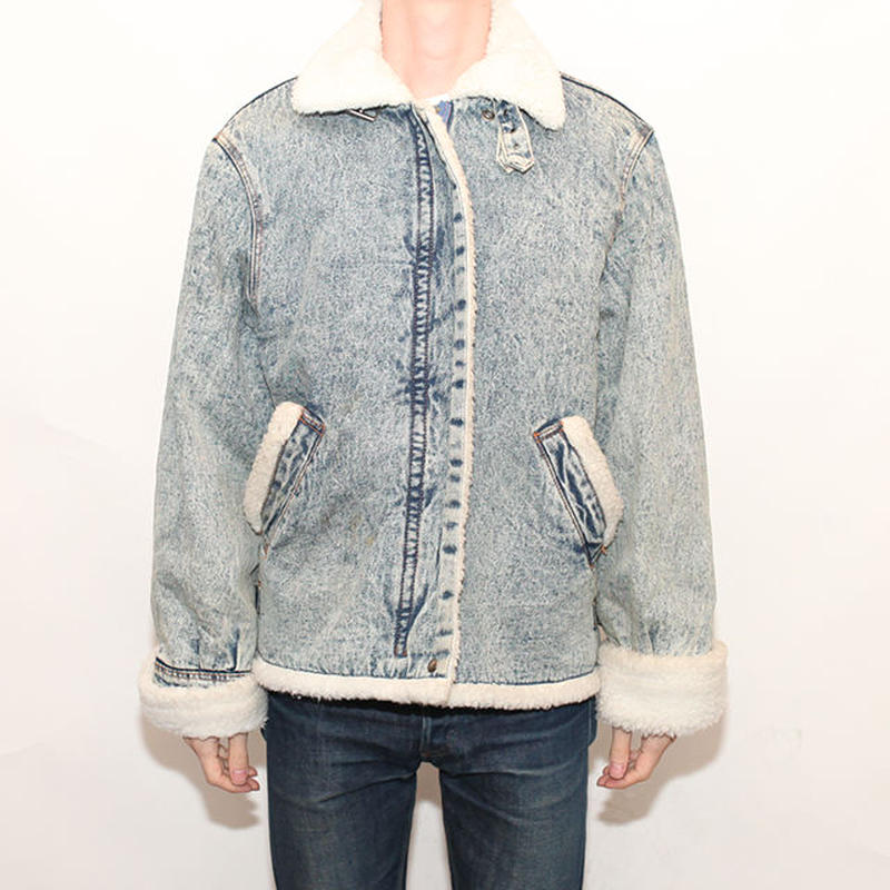 Denim Boa Jacket Type B-3