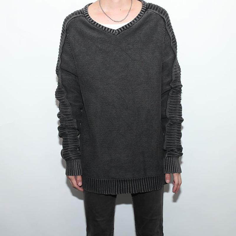 Black Indigo Knit Sweater