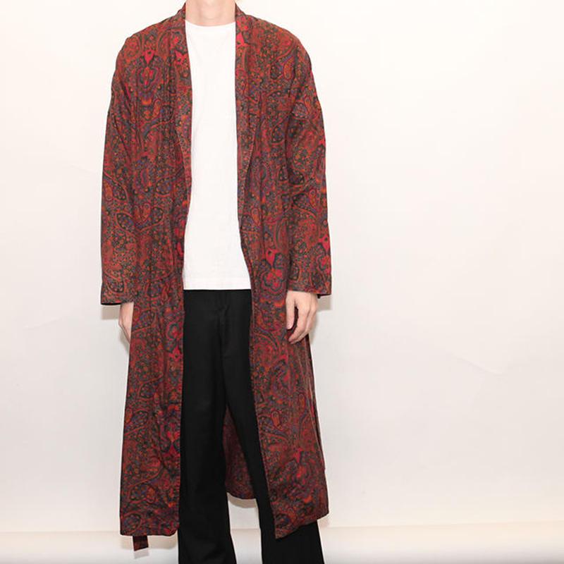 Cotton Paisrey Gown Coat