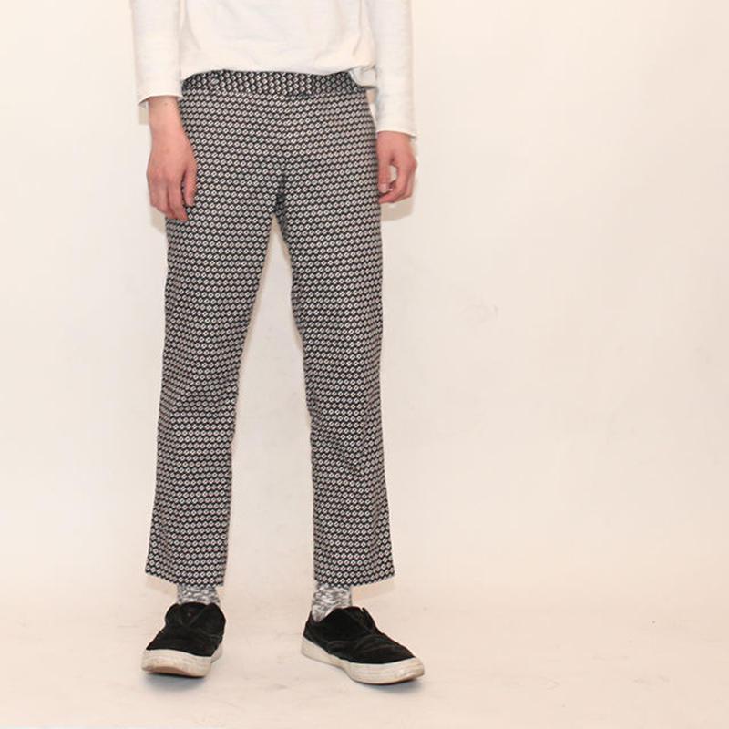 Geometric Pattern Cotton Pants