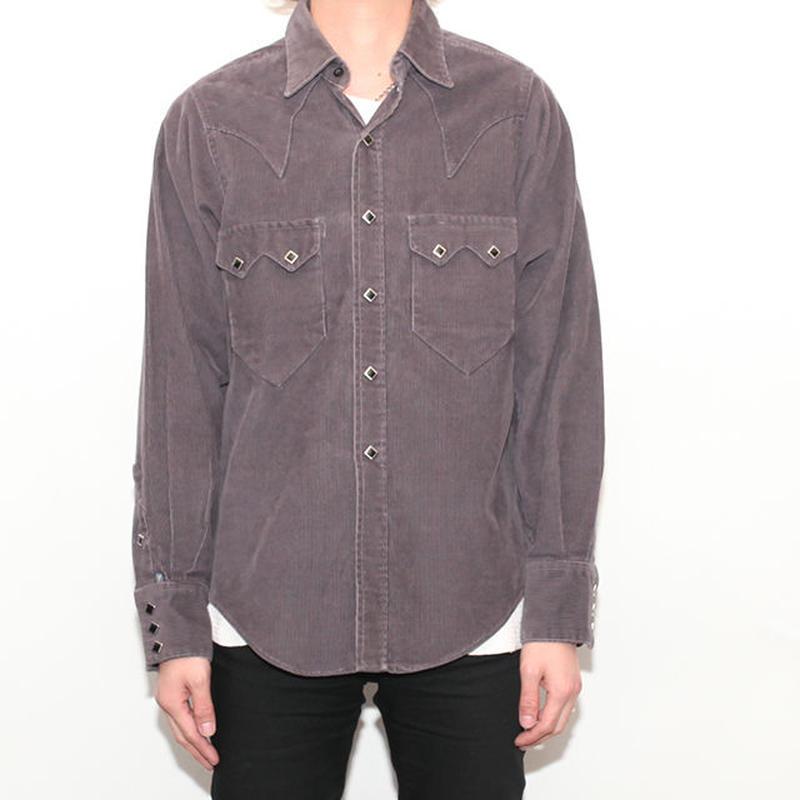 Corduroy Western L/S Shirt