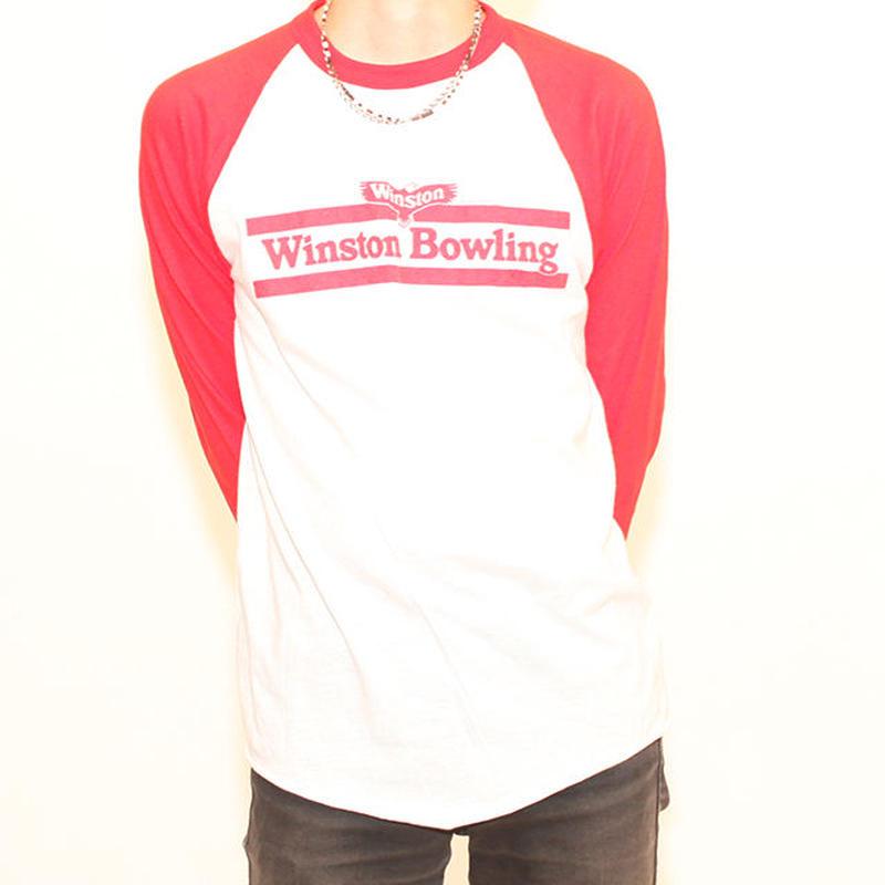 80's Winston Bowlling Baseball T-Shirt