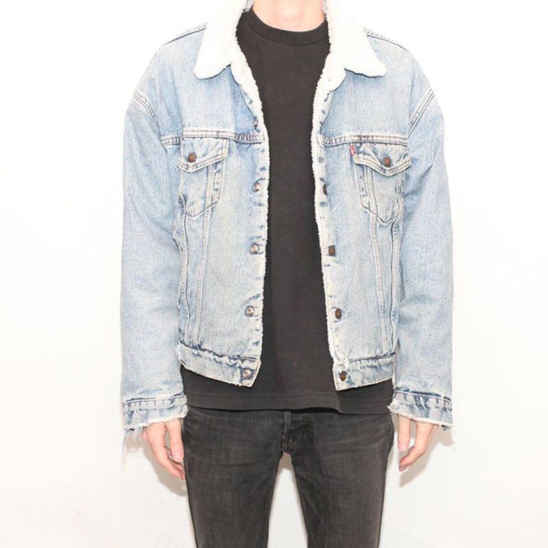 Levis Denim Boa Jacket
