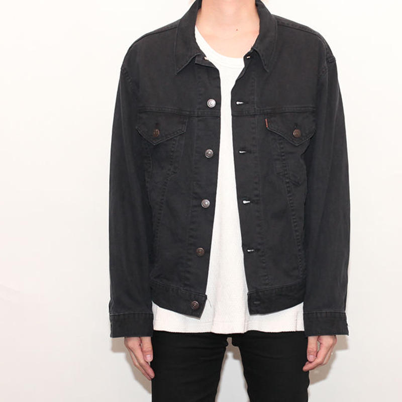 Levis Trucker Jacket Black