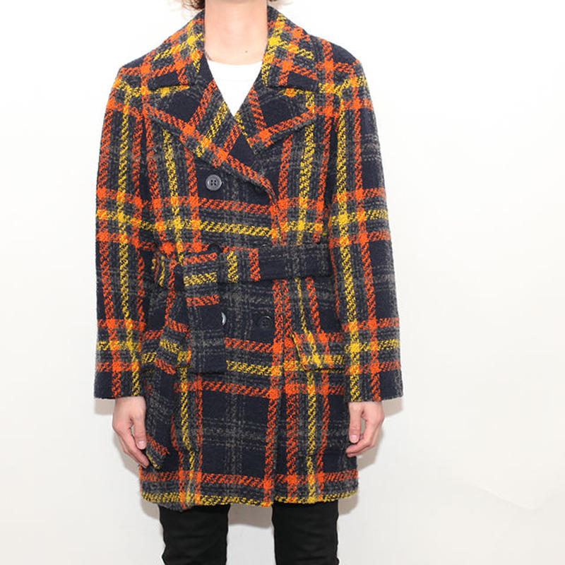 Check Coat MADE IN ITALY