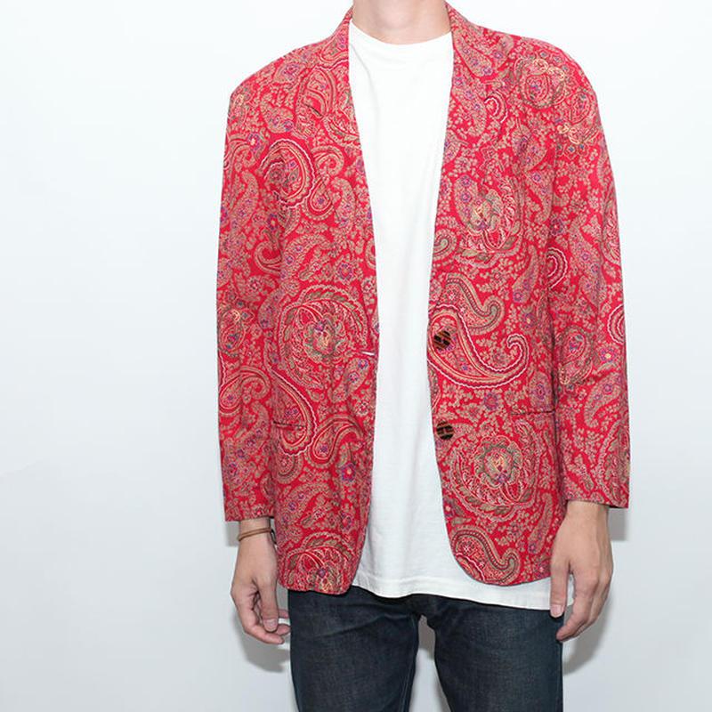 Paisley Jacket ペイズリー テイラードジャケット