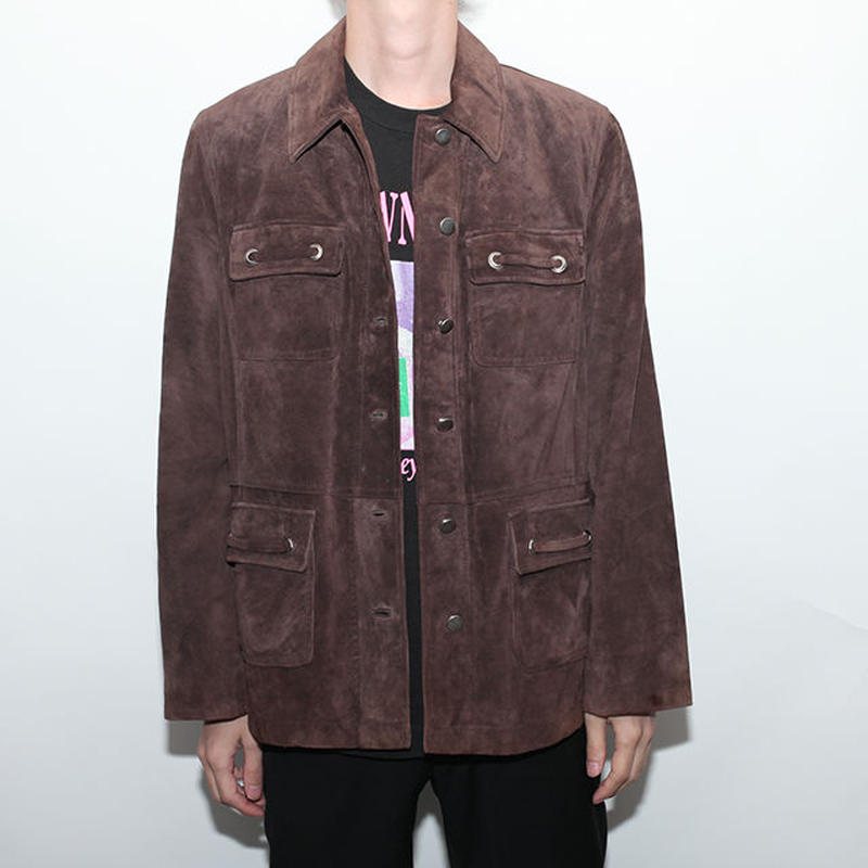 Design Suede Jacket