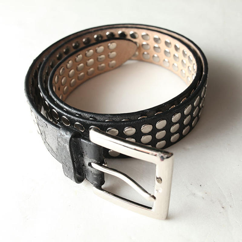 Damege Leather Belt