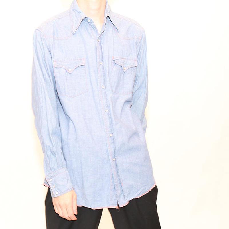 Chambrey Western L/S  Shirt