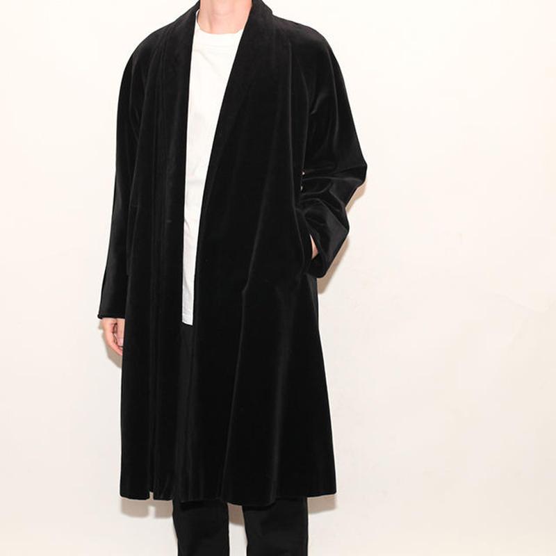 Vintage Velvet Gown Coat