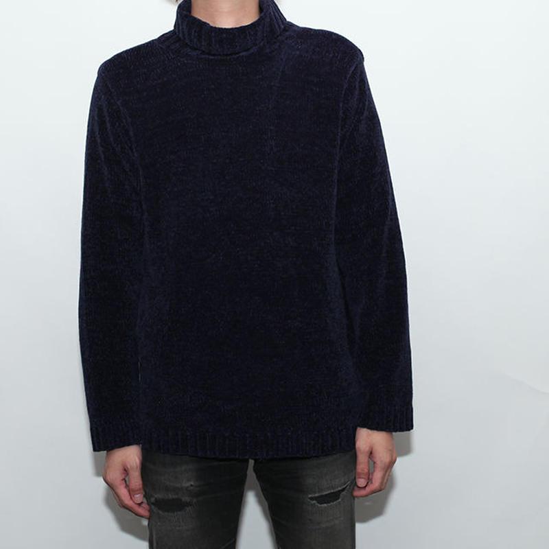 Velvet Turtle Neck Sweater