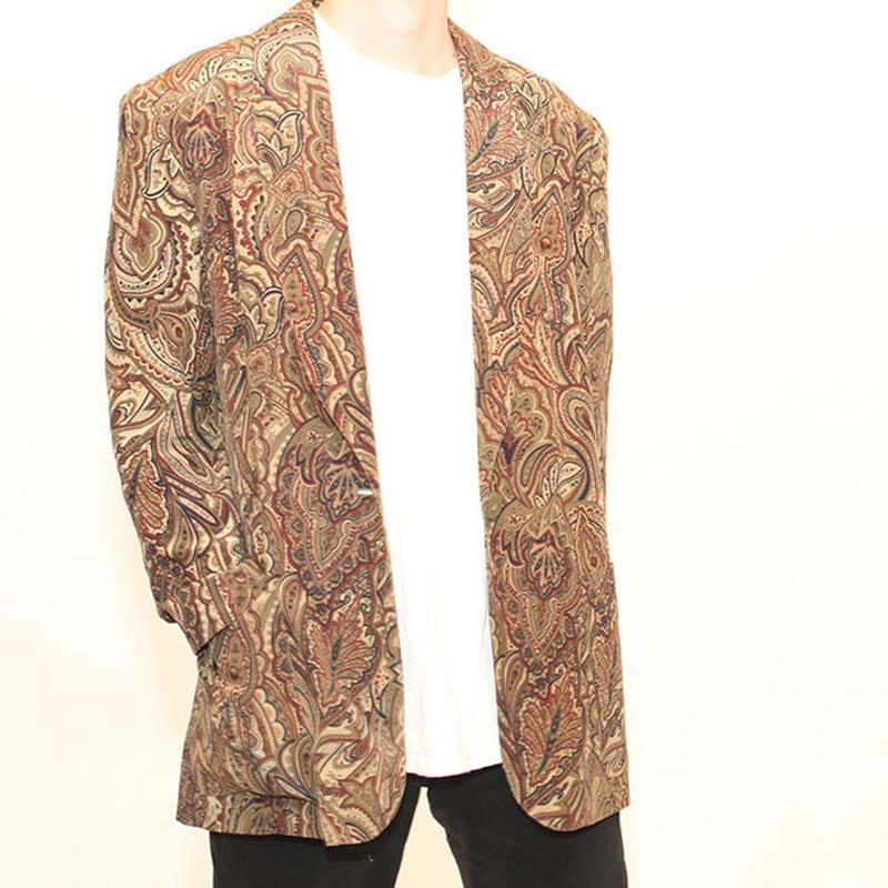 Silk Paisley Jacket