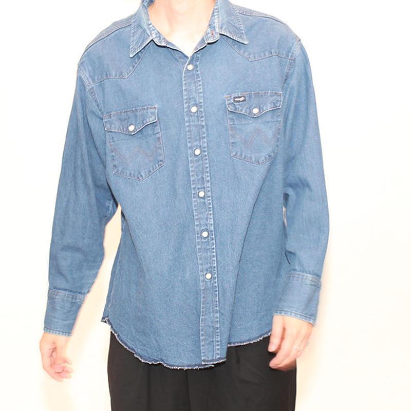 Wrangler Denim Western Shirt