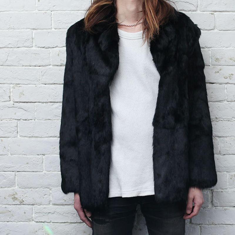 Rabit Fur Coat