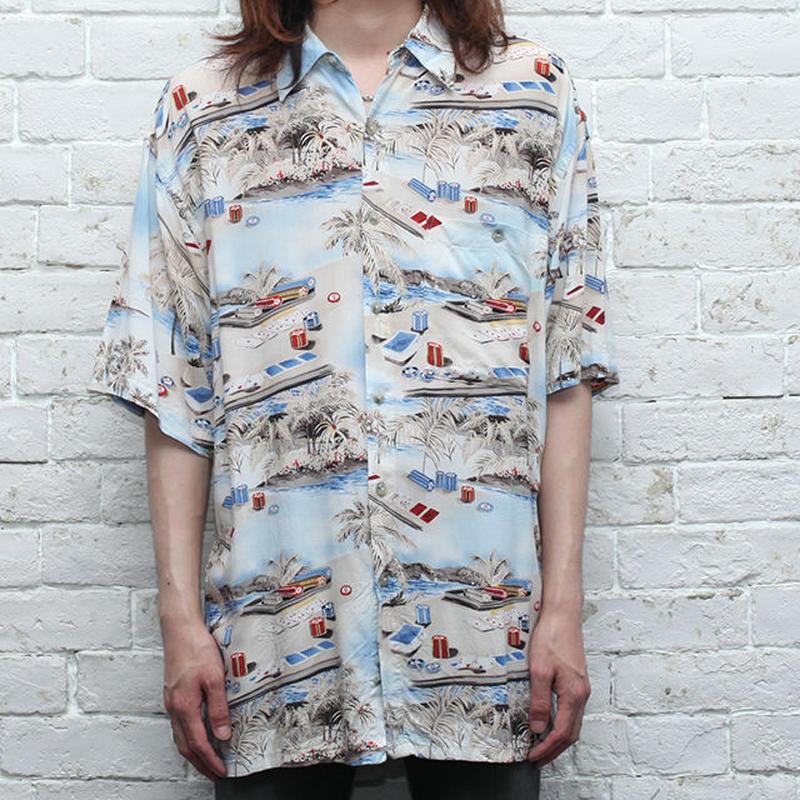 レーヨン ハワイアンシャツ Rayon S/S Shirt
