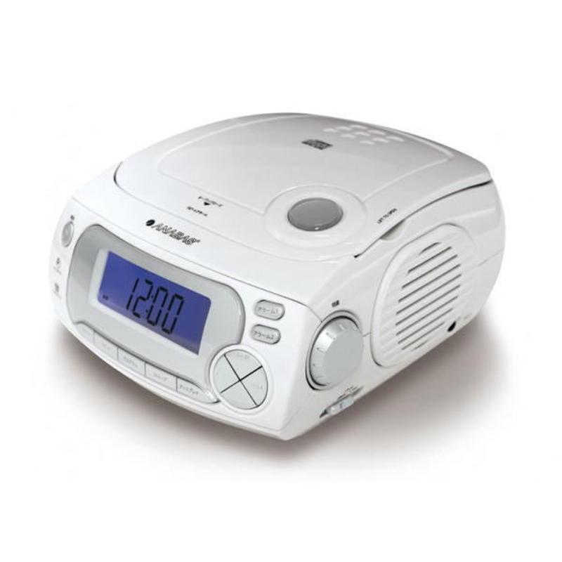 ANABAS CDクロックラジオ