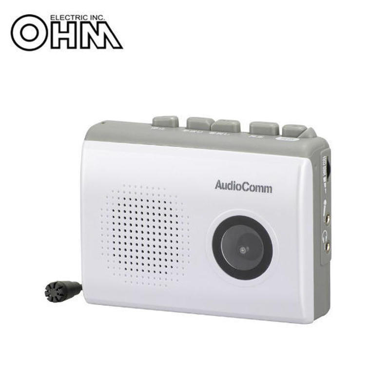 OHM AudioComm 録音/再生カセットレコーダー