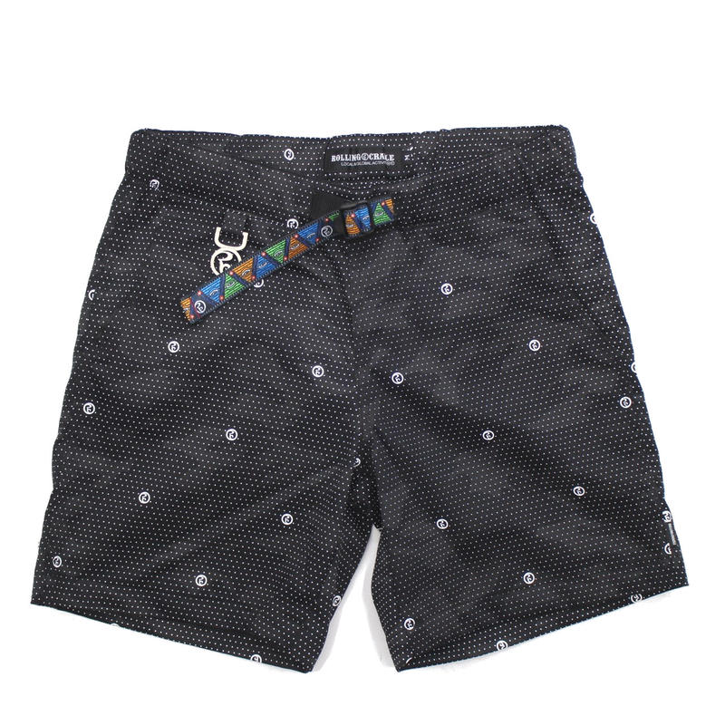 RC CAMO DOTxDOT SHORTS / GRAY